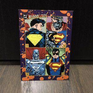 DC Bloodlines Death of Superman Card